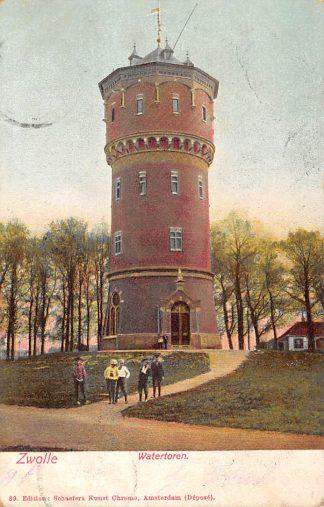 Ansichtkaart Zwolle Watertoren 1905 HC9005