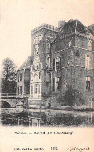 Ansichtkaart Vaassen Kasteel De Cannenburg 1905 HC9011