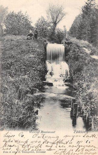 Ansichtkaart Vaassen Waterval Kraaiennest 1905 HC9024
