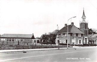 Ansichtkaart Onstwedde Gereformeerde Kerk 1970 Stadskanaal HC9035