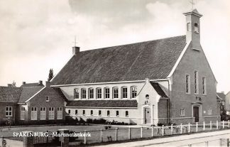 Ansichtkaart Spakenburg Maranatha kerk 1966 Gereformeerde Kerk Vrijgemaakt HC9039