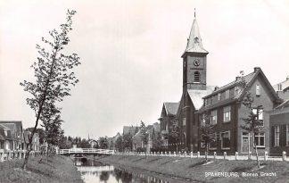 Ansichtkaart Spakenburg Binnen Gracht Gereformeerde Kerk HC9041