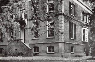 Ansichtkaart Zetten Chr. H.B.S. School Proefdruk Jos-Pe Arnhem HC9064