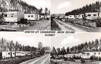 Ansichtkaart Ellemeet Groeten uit Caravanpark Nieuw-Zeeland Camping Schouwen-Duiveland Zeeland HC9066