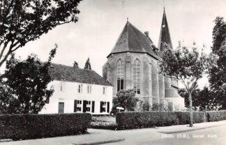 Ansichtkaart Driel (O.B.) Gereformeerde Kerk HC9067