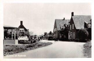Ansichtkaart Kerkwijk Groeten uit.. Benzinepomp Auto Zaltbommel HC9077