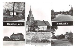 Ansichtkaart Kerkwijk Groeten uit Vijfluik Kerk Zaltbommel HC9078