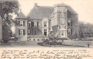Ansichtkaart Vaassen Kasteel de Cannenburgh 1905 HC9087