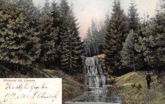 Ansichtkaart Loenen (GD) Waterval 1903 HC9088