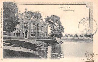Ansichtkaart Zwolle Ambachtsschool School 1904 HC9091
