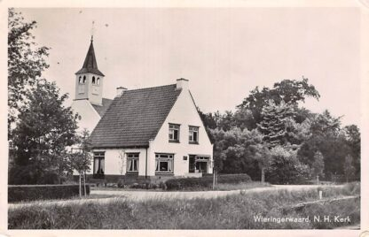 Ansichtkaart Wieringerwaard N. Hervormde Kerk Wieringen HC9096