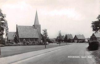 Ansichtkaart Ermelo Gereformeerde Kerk 1963 HC9097