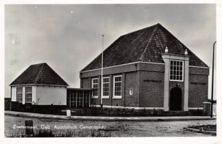 Ansichtkaart Zoetermeer Gebouw Apostolisch Genootschap Kerk 1957 HC9100