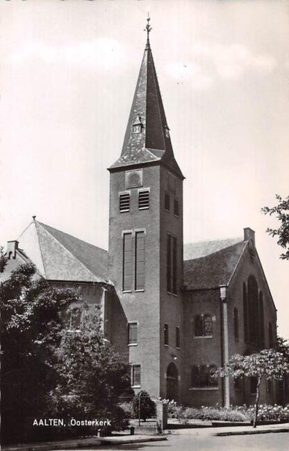 Ansichtkaart Aalten Gereformeerde Ooster kerk 1966 HC9103