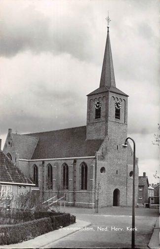 Ansichtkaart Zwammerdam Ned. Hervormde Kerk 1964 HC9104