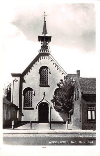 Ansichtkaart Wissenkerke Ned. Hervormde Kerk 1966 HC9108