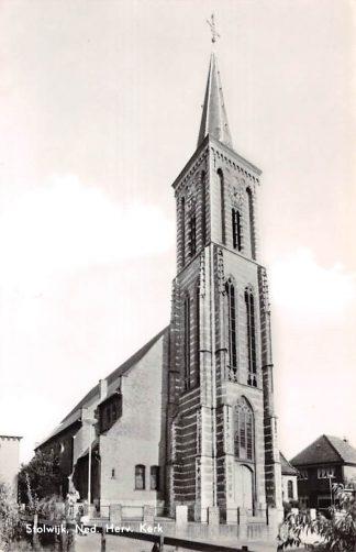 Ansichtkaart Stolwijk Ned. Herv. Kerk 1966 Krimpenerwaard HC9110