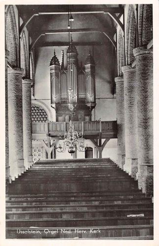 Ansichtkaart IJsselstein (UT) Interieur Orgel Ned. Hervormde Kerk 1959 HC9115