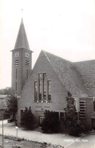Ansichtkaart Ommen Gereformeerde Kerk 1965 HC9118