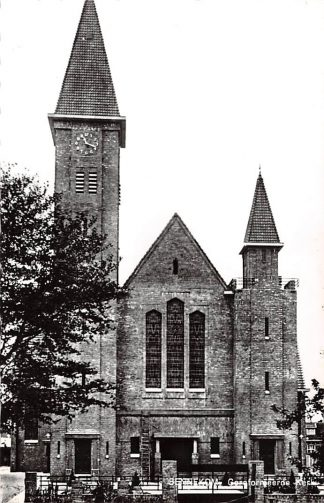 Ansichtkaart Bennekom Gereformeerde Kerk 1966 HC9119