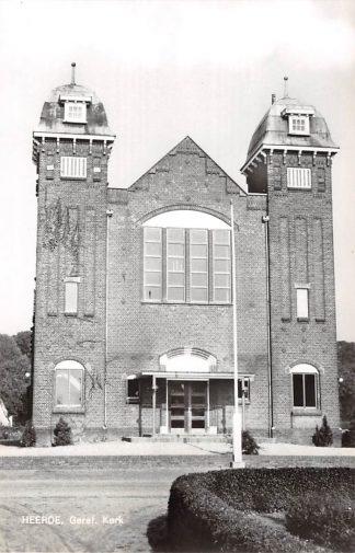 Ansichtkaart Heerde Gereformeerde Kerk 1967 HC9127