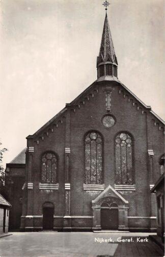 Ansichtkaart Nijkerk Gereformeerde Kerk HC9129