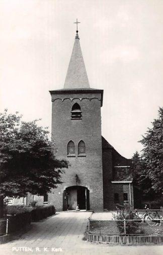 Ansichtkaart Putten R.K. Kerk 1969 HC9130