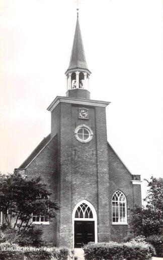Ansichtkaart Leimuiden Hervormde Kerk 1968 HC9131