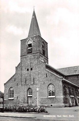 Ansichtkaart Bennekom Ned. Hervormde Kerk 1966 HC9138