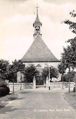 Ansichtkaart Sint Laurens Ned. Hervormde Kerk Middelburg 1960 HC9141