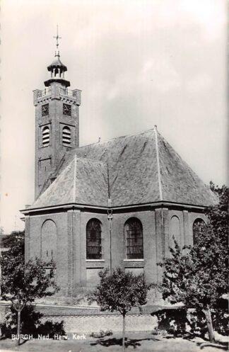 Ansichtkaart Burgh Ned. Hervormde Kerk 1967 HC9146