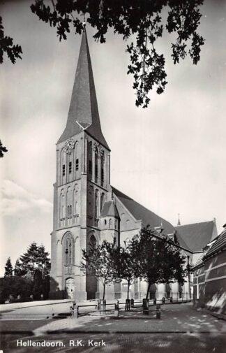 Ansichtkaart Hellendoorn R.K. Kerk 1968 HC9147