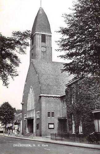 Ansichtkaart Driebergen Ned. Hervormde Kerk 1967 HC9149