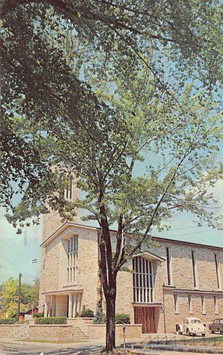 Ansichtkaart Canada Brantford Ontario Central Presbyterian Church Kerk Auto VW 1967 Noord-Amerika HC9152