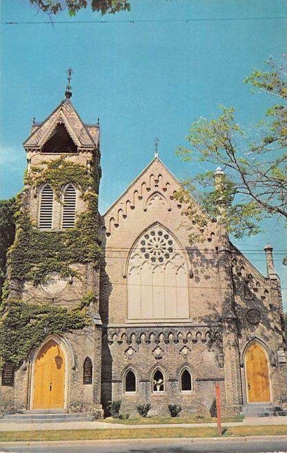 Ansichtkaart Canada Brantford Ontario Brant Avenue United Church of Canada Kerk 1967 Noord-Amerika HC9153