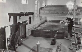 Ansichtkaart Waddinxveen Interieur Ned. Hervormde Kerk 1963 HC9160