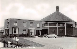 Ansichtkaart Krimpen aan den IJssel Kerk Oud Gereformeerde Gemeente Auto 1963 HC9163