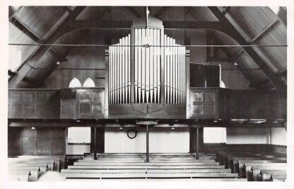 Ansichtkaart Sliedrecht Orgel In de kerk van de Gereformeerde Gem. H.V. 1950 HC9167