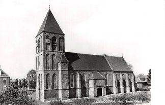 Ansichtkaart IJzendoorn Ned. Hervormde Kerk 1975 HC9170