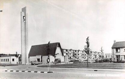 Ansichtkaart Alblasserdam Hervormde Eltheto kerk Auto 1967 HC9179