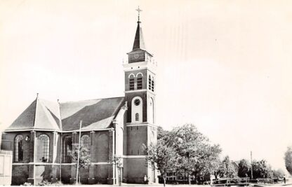 Ansichtkaart Zegveld Ned. Hervormde Kerk 1964 HC9183