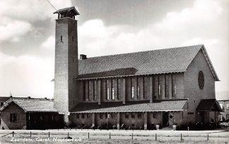 Ansichtkaart Zaandam Gereformeerde Noorder kerk 1962 HC9184
