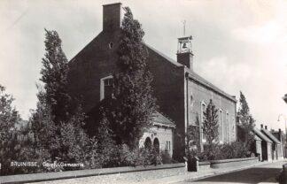 Ansichtkaart Bruinisse Kerk Gereformeerde Gemeente 1966 HC9189