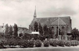 Ansichtkaart Nijkerk Gereformeerde Kerk 1964 HC9198