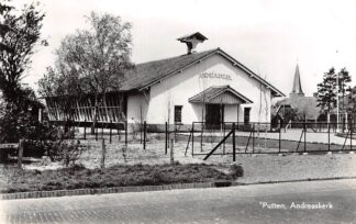 Ansichtkaart Putten Andreaskerk Ned. Hervormde Kerk 1969 HC9199