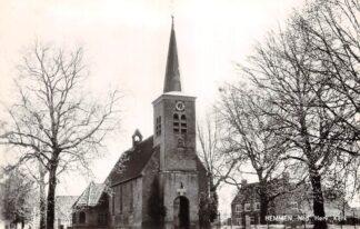 Ansichtkaart Hemmen Ned. Hervormde Kerk 1956 HC9203