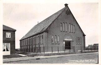 Ansichtkaart Stavenisse Oud Gereformeerde Kerk 1957 HC9204