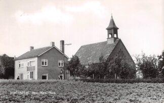 Ansichtkaart Achterberg (UT) Rhenen Ned. Hervormde Kerk 1963 HC9206