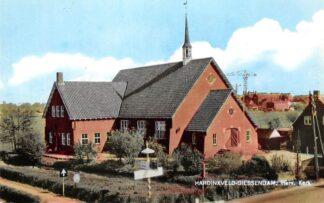 Ansichtkaart Hardinxveld - Giessendam Ned. Hervormde Kerk 1964 HC9208