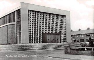 Ansichtkaart Yerseke Kerk der Gereformeerde Gemeente 1965 HC9212